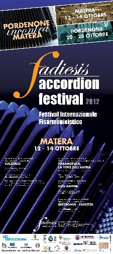 FESTIVAL INTERNAZIONALE FISARMONICISTICO 2012 - Matera