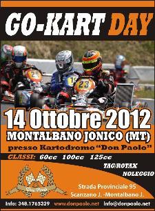 Go-kart day - 14 ottobre 2012 - Matera