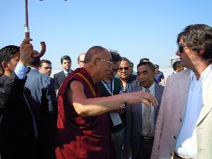 Il Dalai Lama in visita a Scanzano Jonico