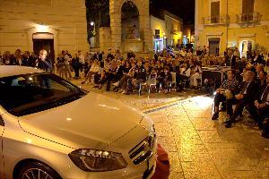 Il pubblico al concerto dei Gabin (foto: courtesy of Mirko Paolicelli, fotoclubmatera)