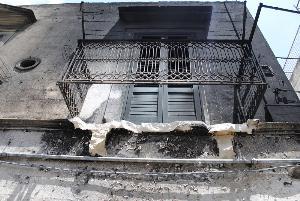 Incendio in via Casalnuovo - 8 luglio 2012
