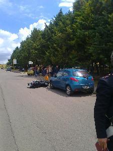 Incidente in via dei Dauni (foto Martemix)