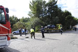 Incidente in via La Martella - 07 novembre 2012