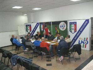 INCONTRO CON LO STAFF TECNICO DELLE RAPPRESENTIVE DI CALCIO A 11  - Matera