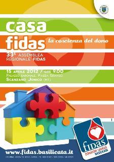 LA FIDAS BASILICATA CELEBRA LA SUA 33^ ASSEMBLEA A SCANZANO JONICO - Matera