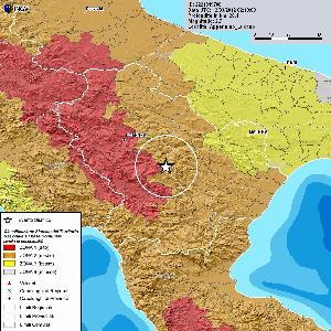 Lieve scossa di terremoto in Basilicata - 12 marzo 2012