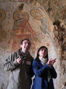 LIS presso la Cripta del Peccato Originale