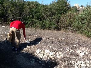 Operazioni di pulizia nel Parco Murgia