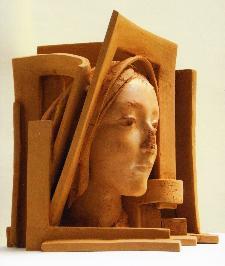 Particolare - Madonna - Presepe dono G. Pirozzi - Matera