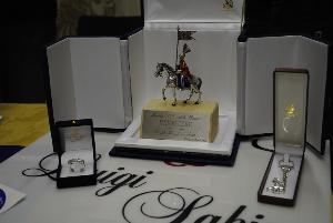 Premi messi a disposizione dall´orafo Luigi Sabino per la Lotteria di Maria S.S. della Bruna 2012