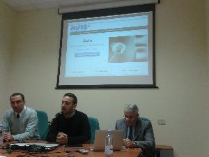 Presentazione del sito web dell´Avis Provinciale di Matera