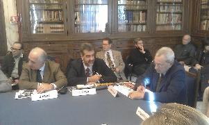 Presentazione Matera città narrata, Gianpiero Perri e Paolo Verri