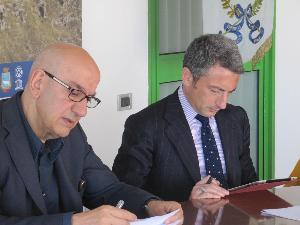 Salvatore Adduce e Attilio Martorano