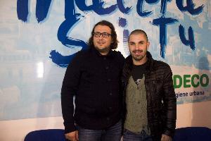 Saverio Columella e Daniele De Vezze (foto Cosimo Martemucci)