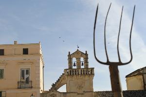 Sit-in del Movimento dei Forconi Lucani a Matera - 28 gennaio 2011 (foto SassiLand)