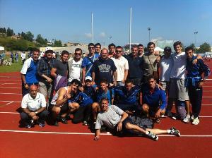 Squadra della Scotellaro CdS A1 Fermo 2012 - Matera