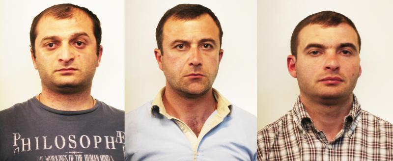 Arrestati tre ladri di appartamento di nazionalità georgiana
