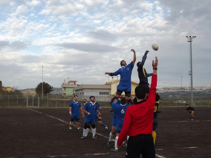 ASD Rugby Matera in azione (foto Facebook)