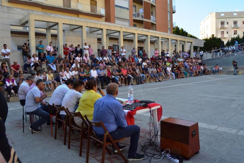 Assemblea Sindacati Polo Salotto - 23 luglio 2013 (foto Francesco Calia)