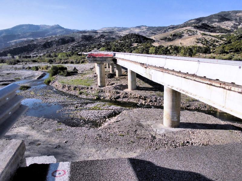 Basentana, viadotto di Calciano