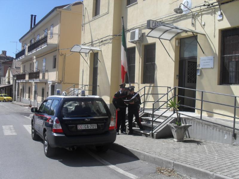 Carabinieri a Colobraro (MT)