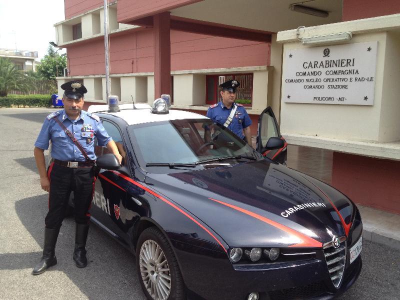 Carabinieri di Policoro