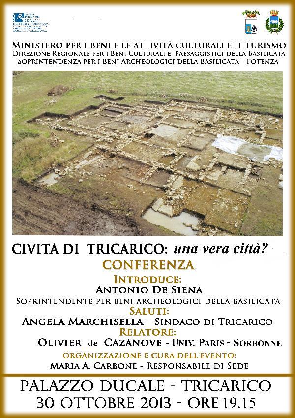 Civita di Tricarico: una vera città? - 30 ottobre 2013