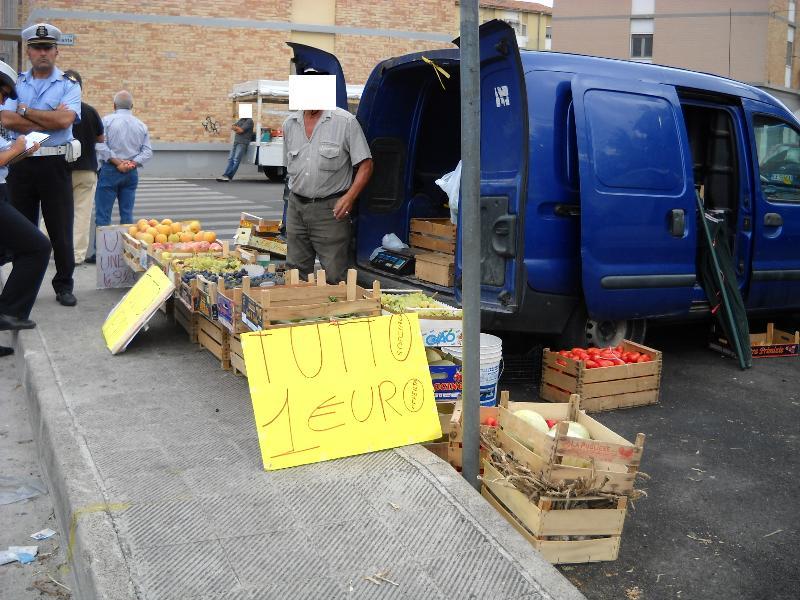 Commercio ambulante a Matera