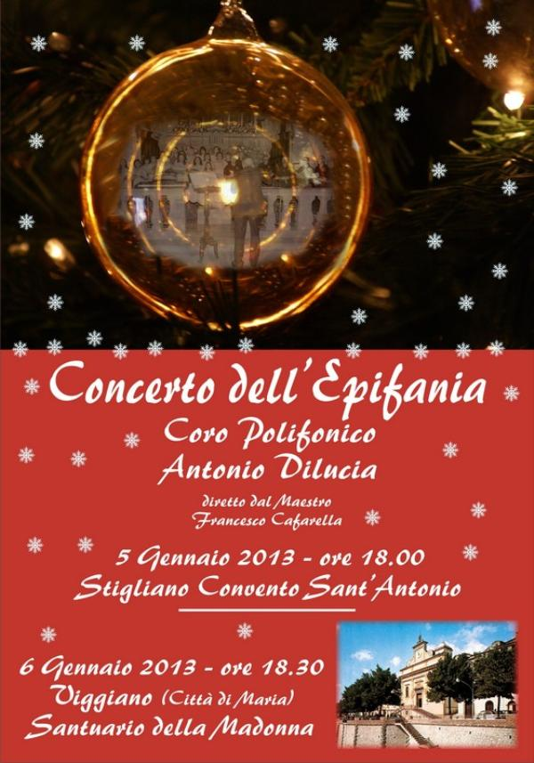 Concerto dell´Epifania a Stigliano - 6 gennaio 2013