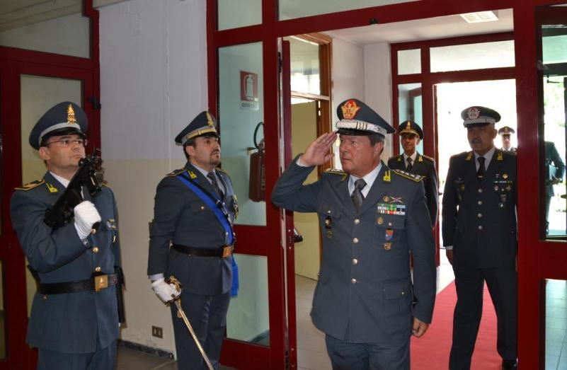 Domenico Achille comandante interregionale dell´Italia meridionale a Matera