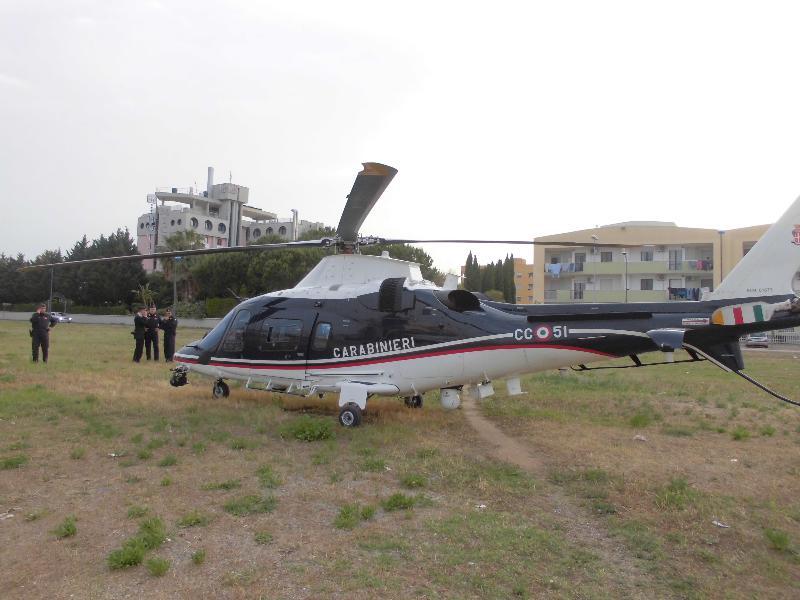 Elicottero dei Carabinieri