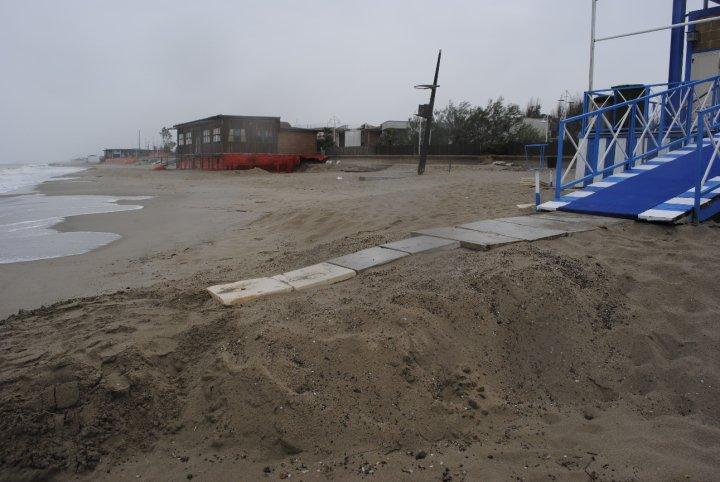 Erosione della Costa jonica metapontina (foto SassiLand)