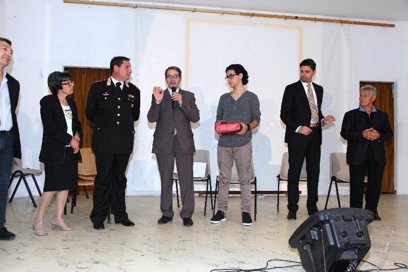 FIDAS, Paolo Ettorre premia Pierluigi Miggiano