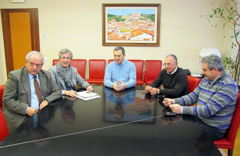 Folino incontra Scaglione, Mollica e Di Sanza - 14 gennaio 2013