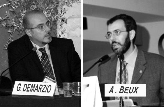 Giuseppe Demarzio e Alessandro Beux