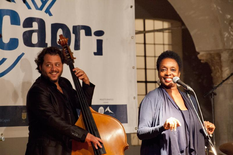 Giuseppe Venezia con Joy Garrison