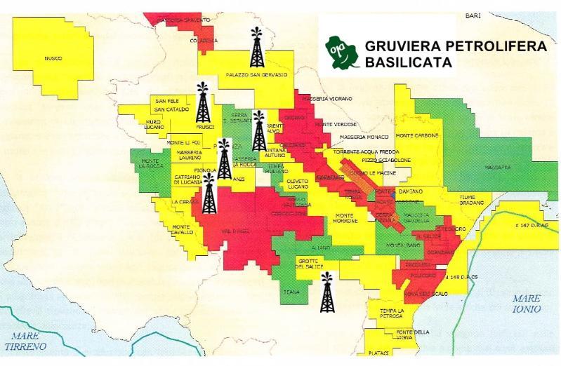 Gruviera petrolifera in Basilicata - immagine di repertorio