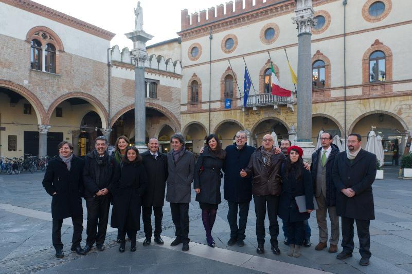 I rappresentanti della città candidate per il 2019 a Ravenna