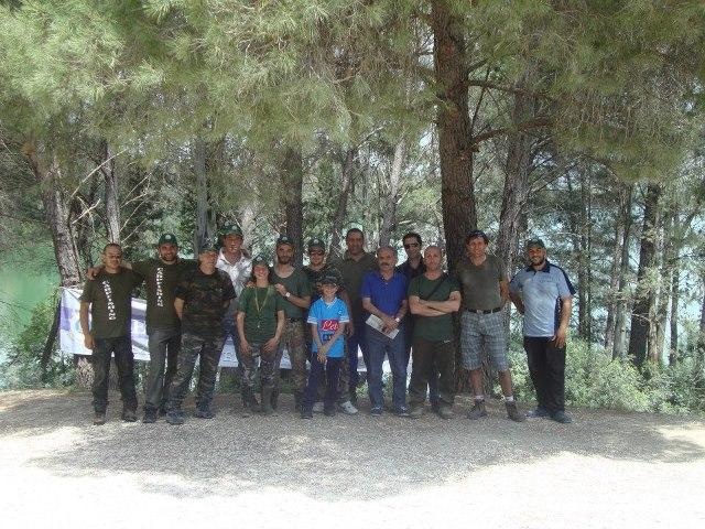 Il gruppo della seconda edizione di Enduro Carpfishing Oasi San Giuliano