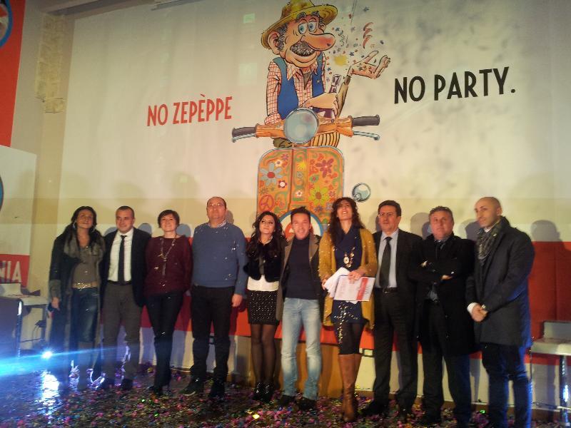Inaugurazione Carnevale di Manfredonia