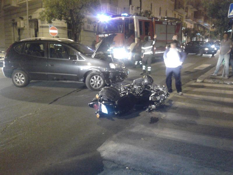 Incidente in via Nazionale - 7 giugno 2013 (foto SassiLand)