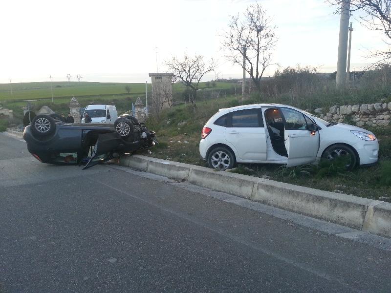 Incidente stradale sulla Matera-Gravina - 2 febbraio 2013