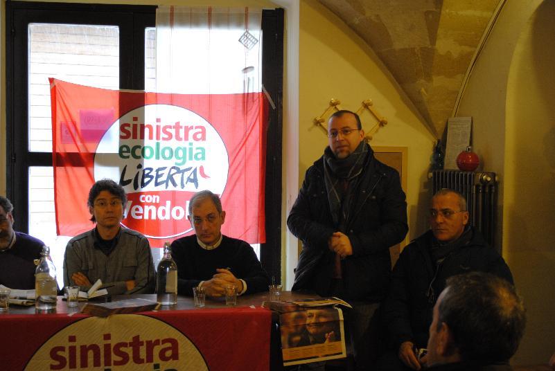 Incontro elettorale con Sinistra Ecologia e Libertà - 9 febbraio 2013 (foto SassiLand)