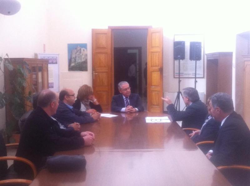 Incontro prefetto Matera ed UGL - 5 ottobre 2013