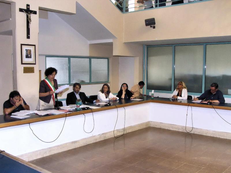 Insediamento del nuov Consiglio al Comune di Tricarico