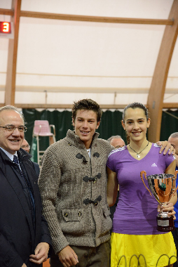 La tennista materana Mariacristina Andrisani