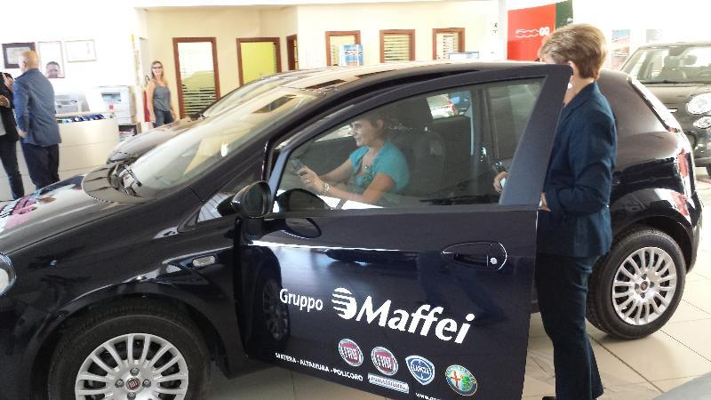 Lotteria Matera è Fiera 2013, Angela Dibenedetto vince una Fiat Punto