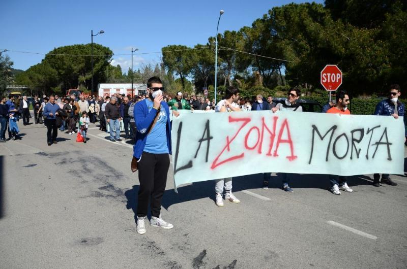 """Manifestazione """"Pisticci scalo Pulita"""" (foto Romano D´Alessandro)"""