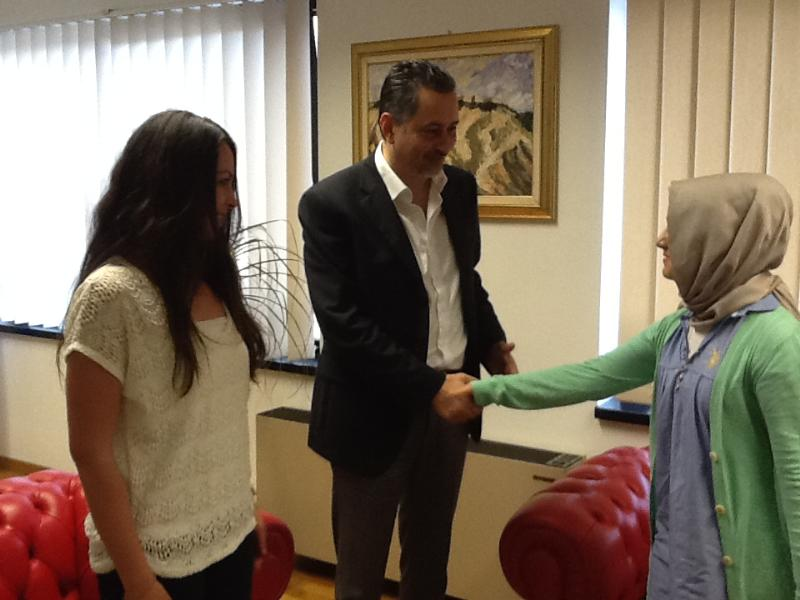 Marcello Pittella e una delegazione turca