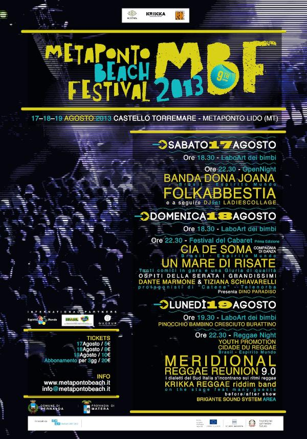 Metaponto Beach Festival 2013